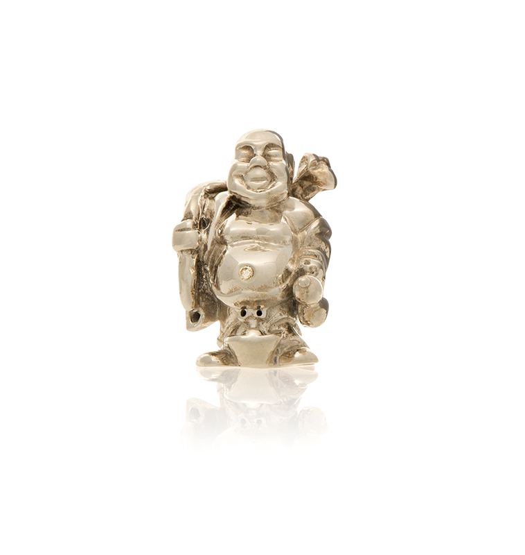 Hotei Buddha Travel Pocket Charm