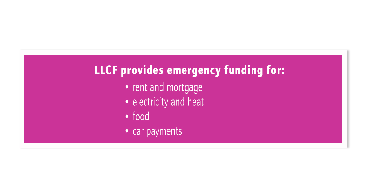 LLCF Provides Emergency Funding 1