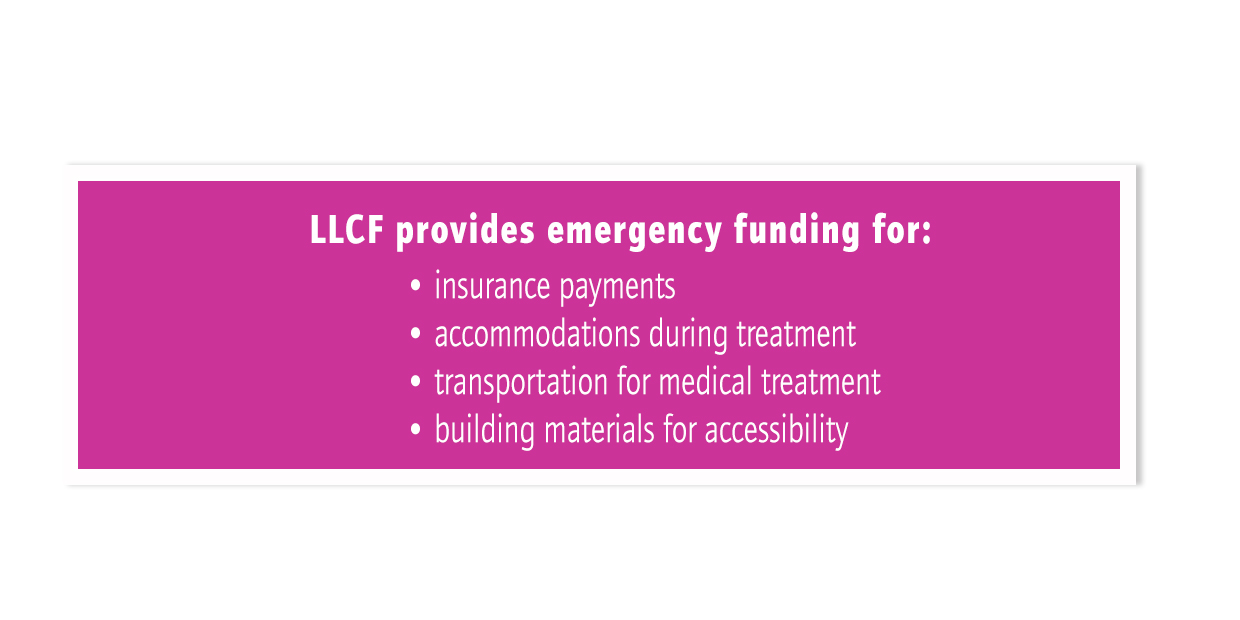 LLCF Provides Emergency Funding for 2