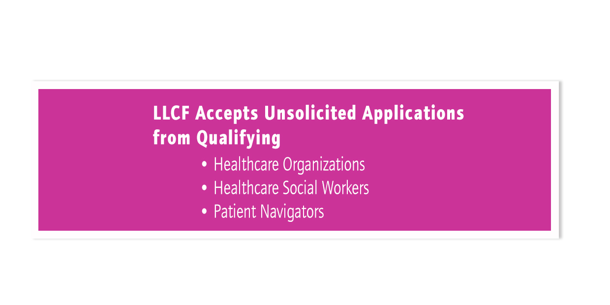 LLCF Accepts Unsolicited Application