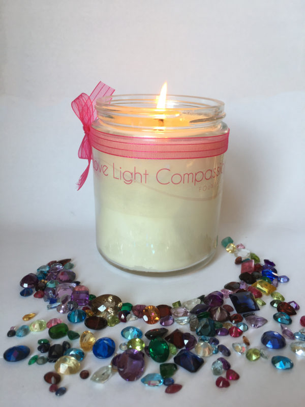Gemstone Candle